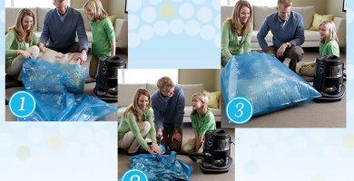 como limpiar cojines y almohadas